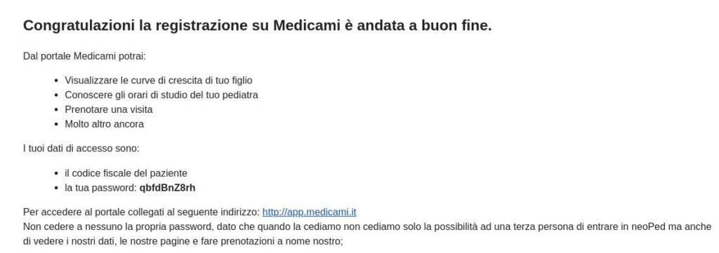Registrazione su medicami 7